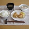 5月料理講習会メニュー